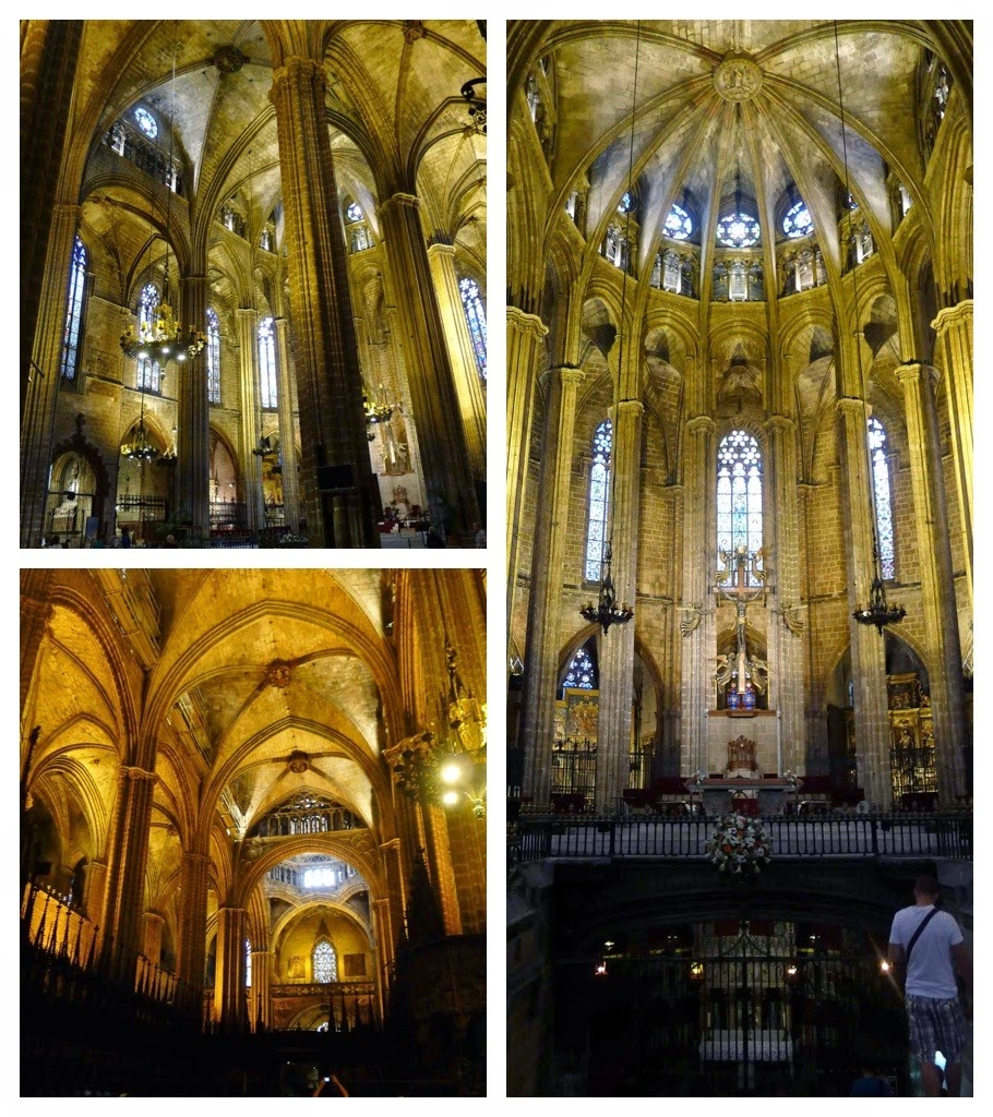 Barcelona Cathedral - interior