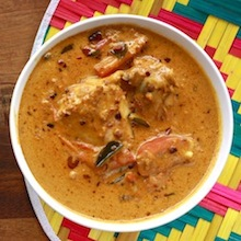 satay curry chicken