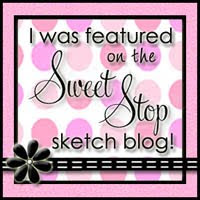 The Sweet Stop - card by Billie A