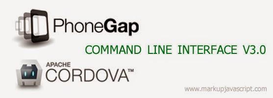 Cordova CLI (Command Line Interface) after v3.0