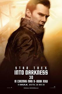 Benedict Cumberbatch Star Trek Poster