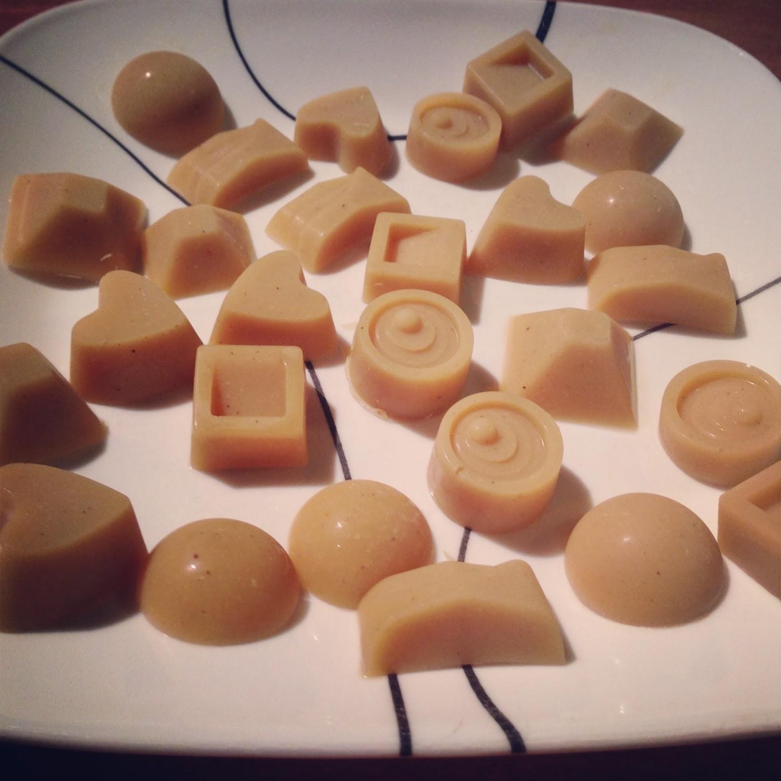 Chocolate Nonpareils White Dunmore Candy Kitchen: The Crohny Kitchen: White Chocolate Candies