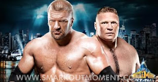 Watch WWE WrestleMania XXIX Brock Lesnar vs Triple H Online Match