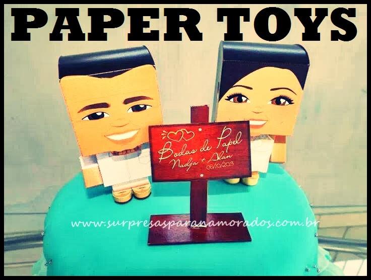 bonequinhos 3D namorados