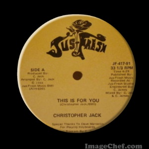 CHRISTOPHER JACK - This Is For You