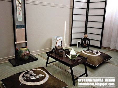 Japanese interior design, interior japanese style ideas