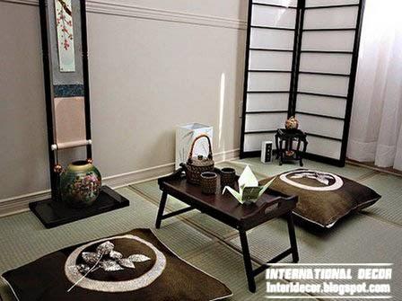 Japanese interior design, interior japanese style ideas