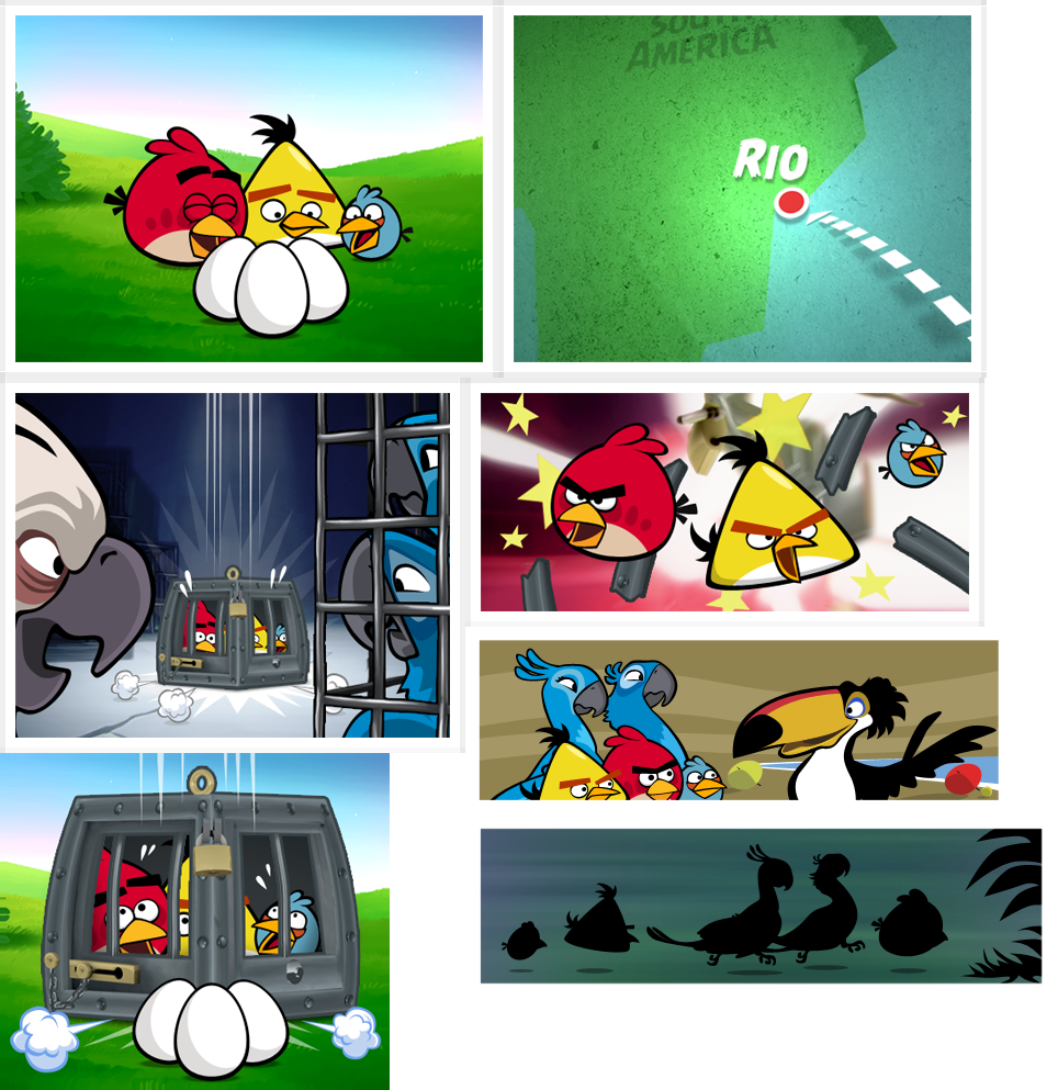 how to play angry birds rio