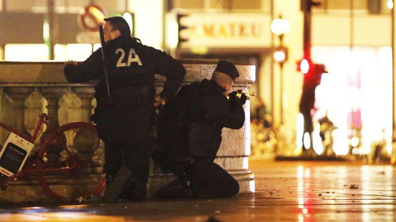 Susto - Falso alarme gerou pânico em Paris