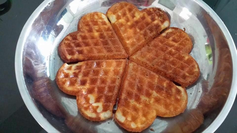 Light, Crisp Waffles Recipe — Dishmaps