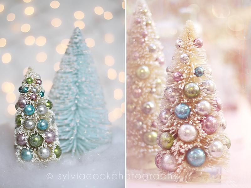 a pastel shabby chic vintage christmas is my look this year for the majority of my decorating anyway it seems so soothing and calming - Pastel Christmas Decorations
