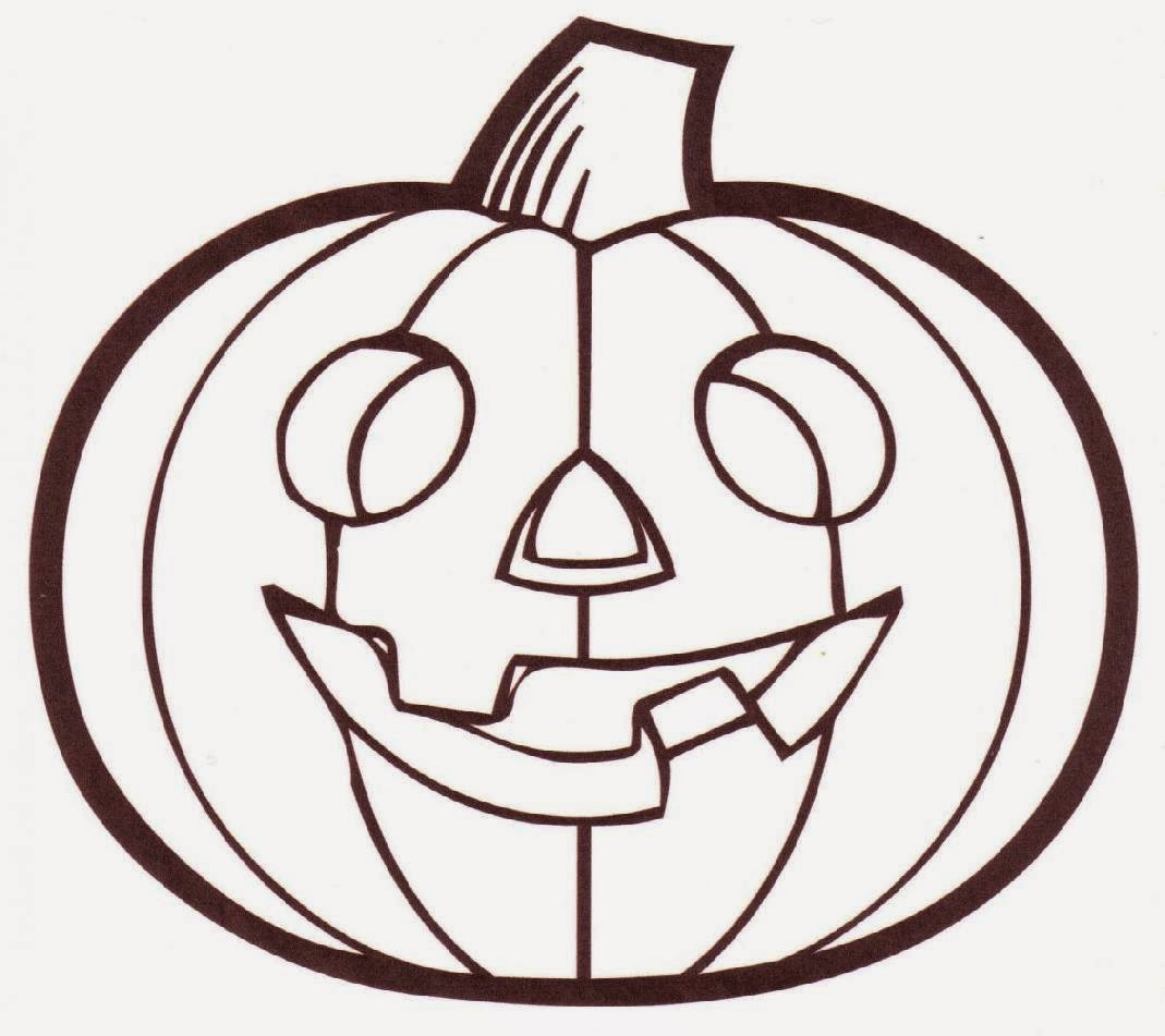 Pumpkin Coloring Sheet Free Coloring