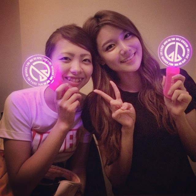 snsd  sooyoung and marina