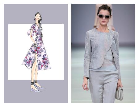 colores primavera verano 2016 pantone moda mujer lilac gray