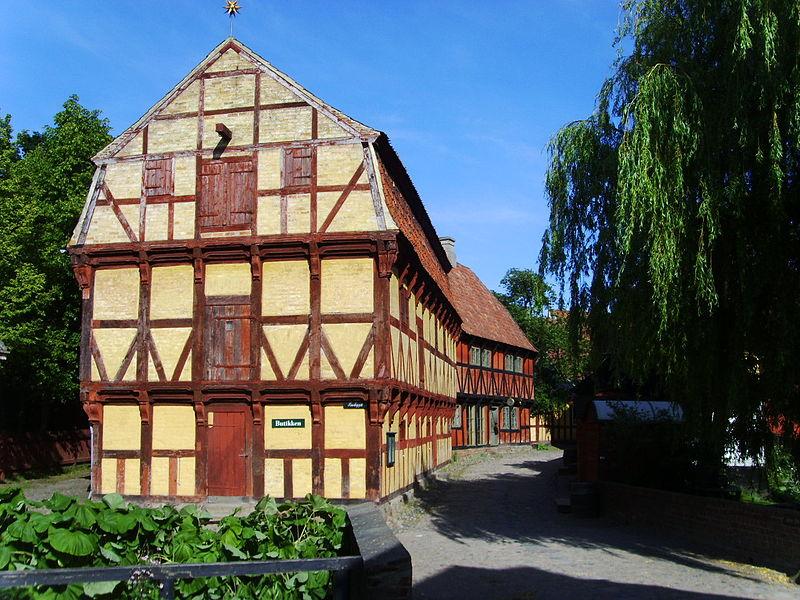 The old town Aarhus
