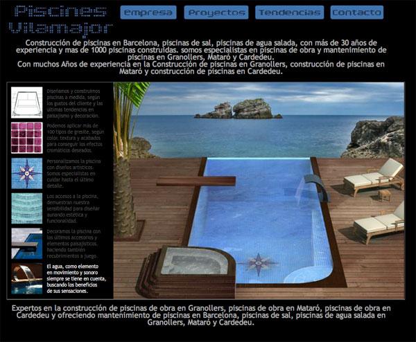 Mobile web design marbella seo website positioning for Piscinas de granollers