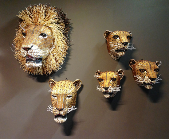 Safari Fusion blog | The lion sleeps tonight...| Admiring the talent of South Africa's leading bead artists