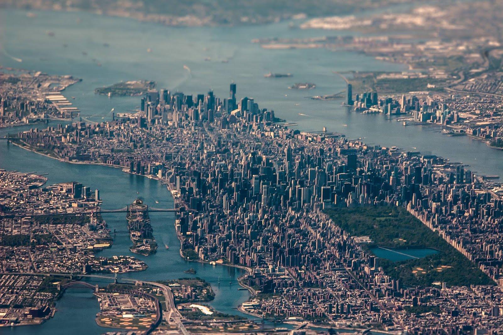 Невероятно фото Нью-Йорка (аэрофотосъемка)