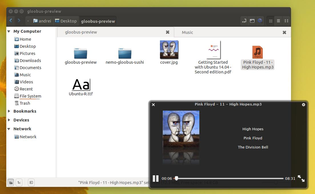 ubuntu add text to pdf
