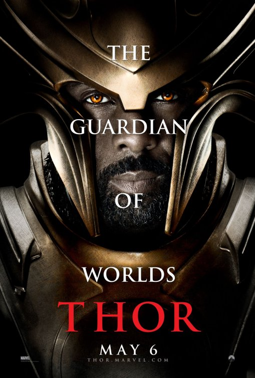 Heimdall poster Thor movie