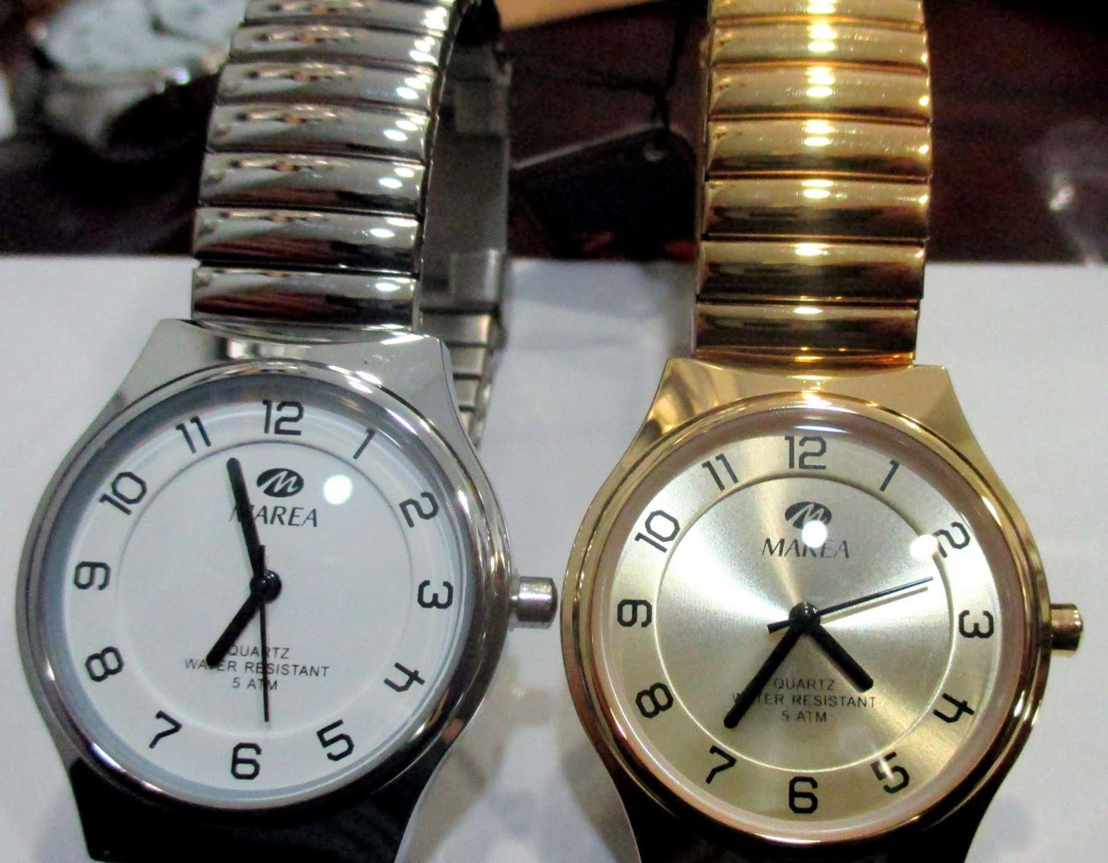 Relojes Marea con pulseras extensibles