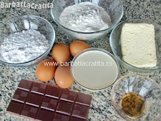 Paleuri fursecuri cu crema ingrediente reteta