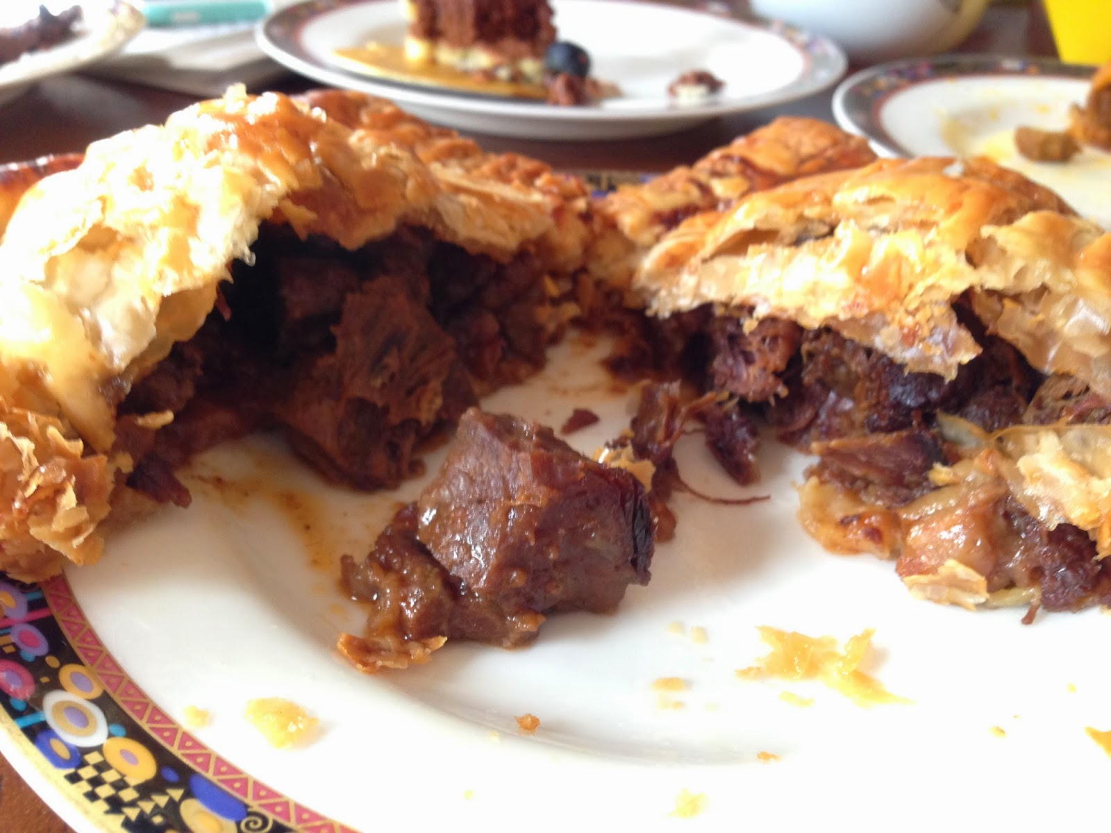 Beef with Onion Pie fillings