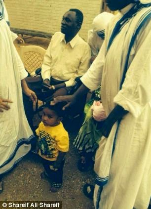 First picture of Meriam Ibrahim as a free woman1
