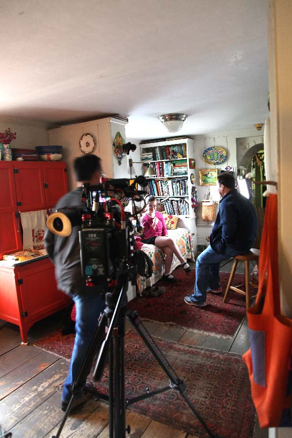 Getting Stitched On The Farm Lights Camera Action Houzz Tv