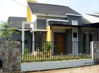 10 contoh rumah sederhana minimalis desain rumah minimalis
