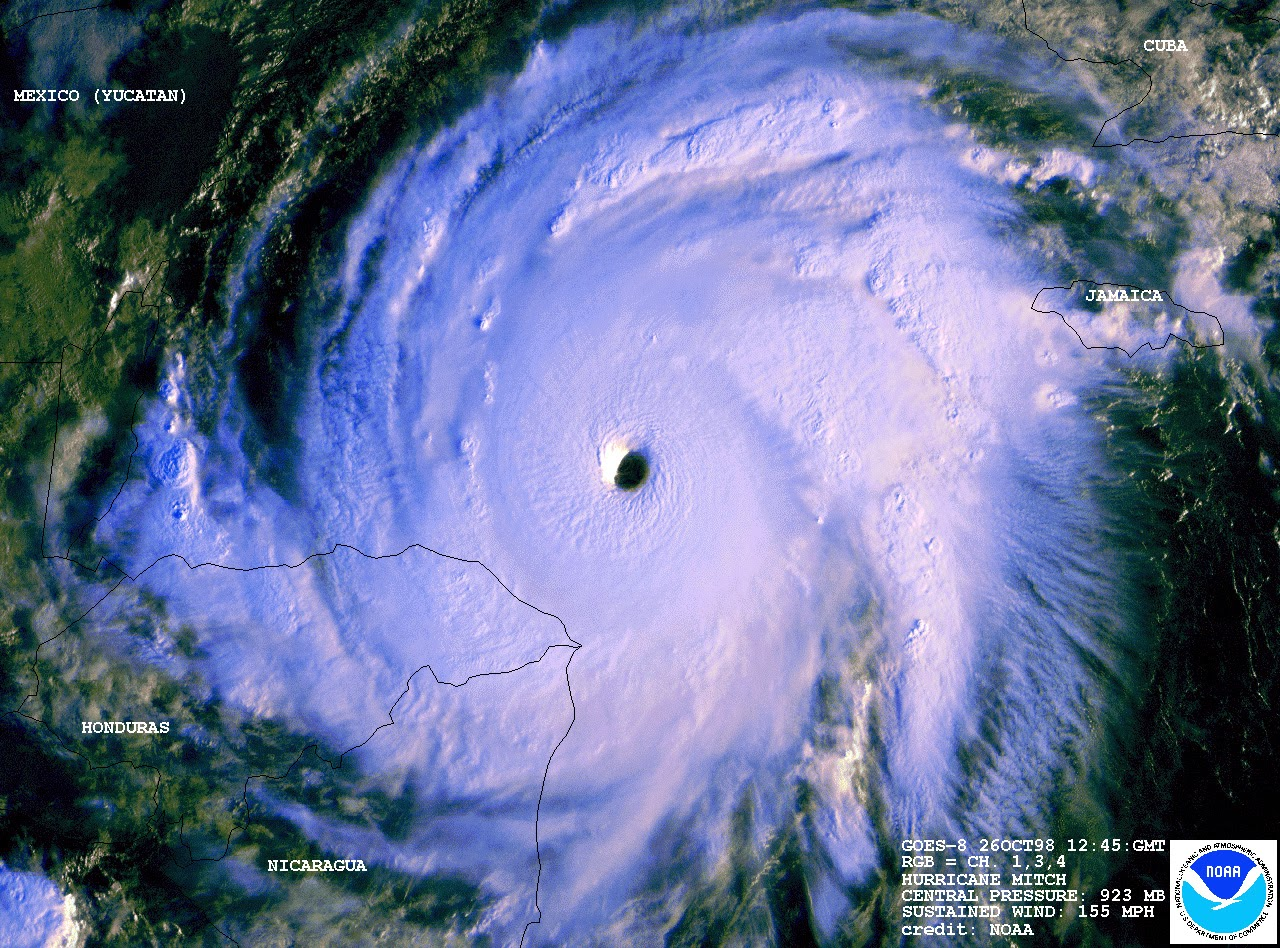 Hurricane Mitch - Wikipedia