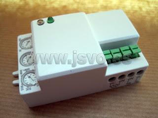 Detector de movimiento por micro-Ondas Electro dh Mód.: 60.252/RF