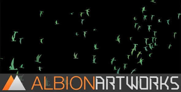 VideoHive Flocking Bird Generator