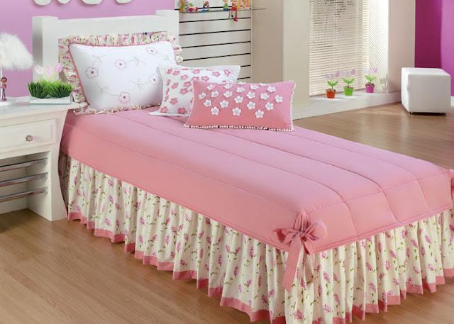 decoracao rosa para quarto de menina 8 Decoração de quarto rosa