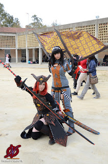 Hana & Atsuki Monster Hunter Cosplay