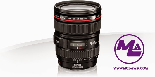 عدسة كانون: EF 24-105mm f/4L IS USM