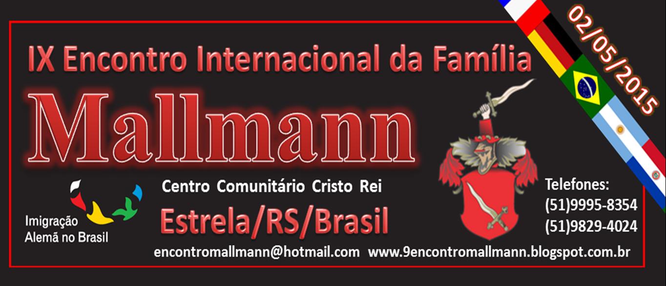 IX Encontro Internacional da Família Mallmann