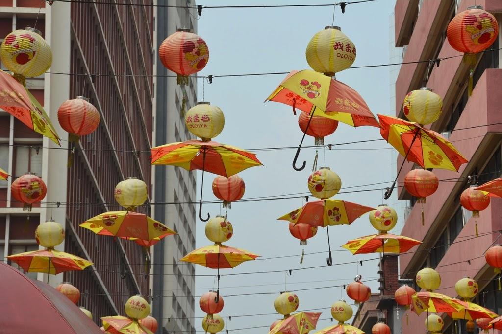 Chinatown Kuala Lumpur umbrella