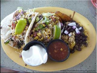 Yucatan fish taco