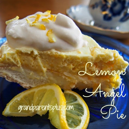 Lemon Angel Pie by Grandparents Plus dot com