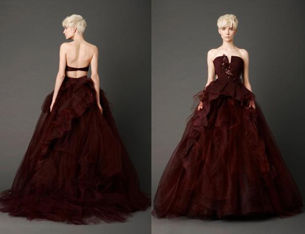 Brautkleider Kaufen Online De: Brautkleider mit Farbe