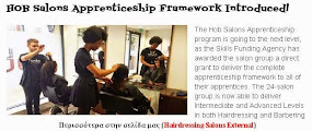HOB Salons Apprenticeship Framework Introduced!