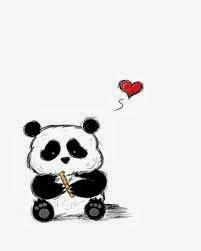 panda comel !
