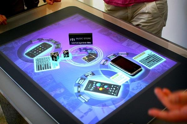 Teknologi Terbaru 2012 : Meja Masa Depan Microsoft Surface dan EXOdesk