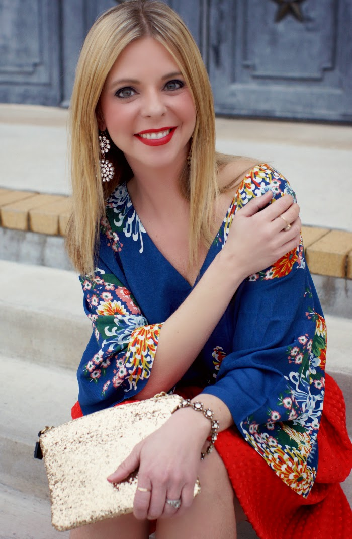 floral printed top blouse
