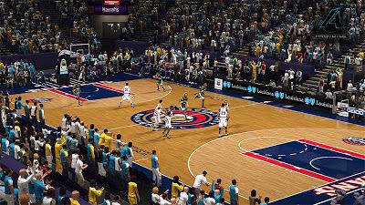 NBA 2K13 New Orleans Pelicans Fictional Court