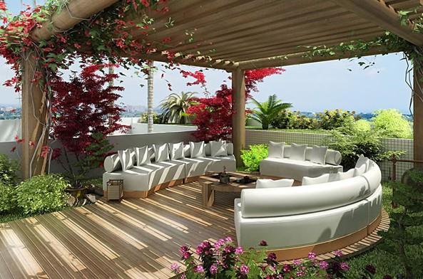Móveis varanda