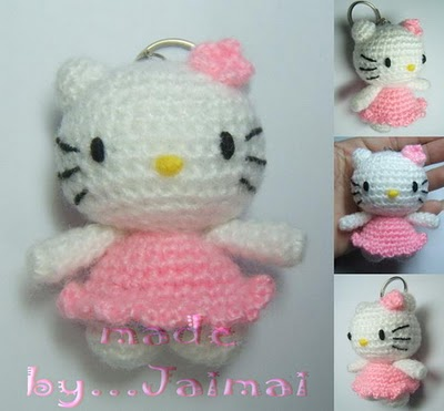 Free Pattern Crochet Hello Kitty : Mi Mundo Amiguru Miau: Kitty amigurumi patrones