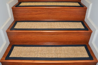 stairs with Carpet stair treads