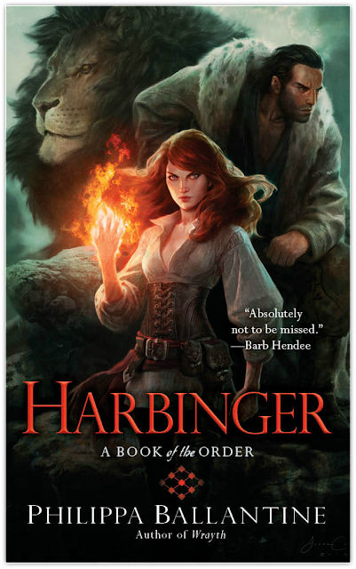 Cover Reveal: Harbinger by Philippa Ballantine
